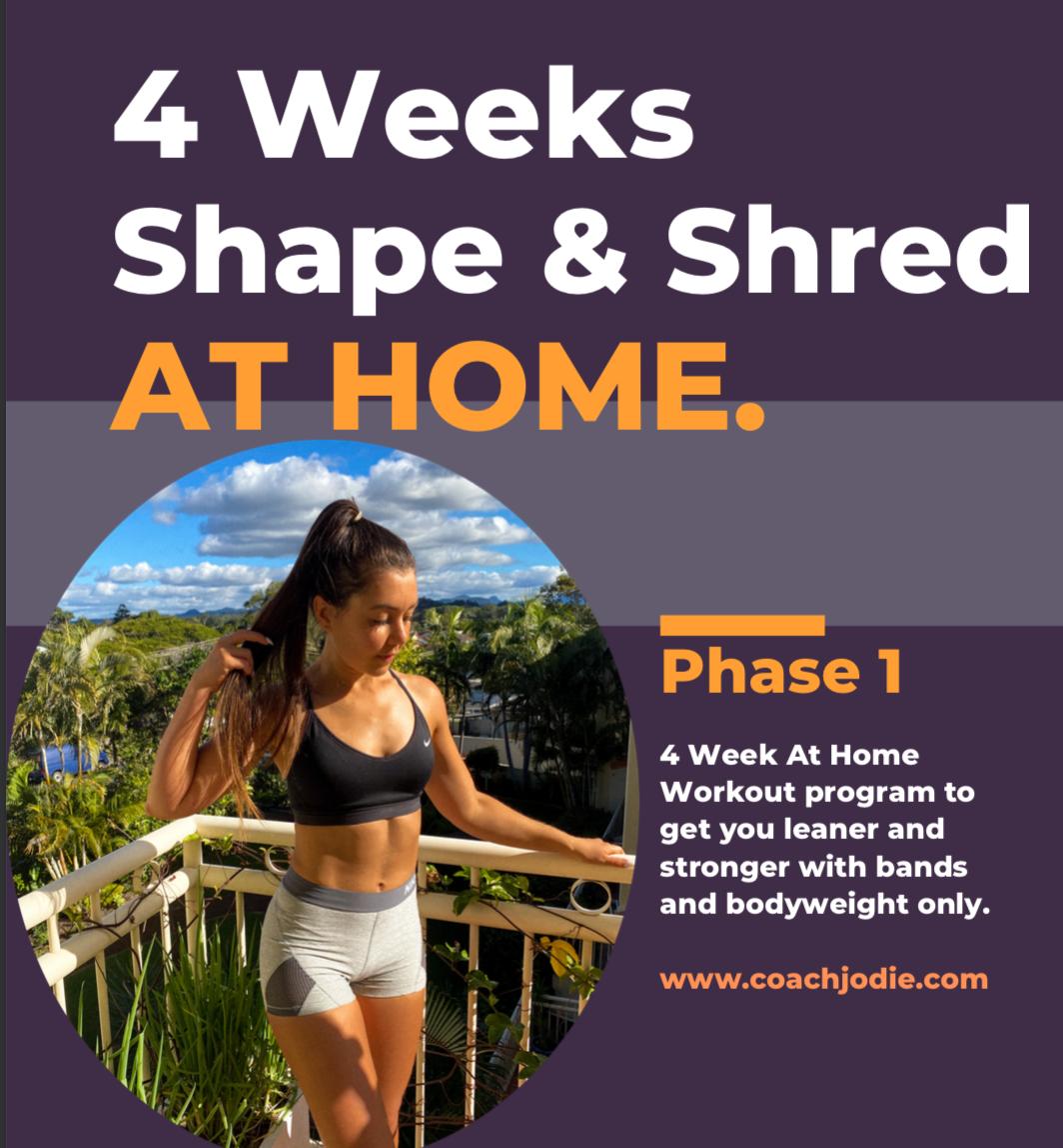 4 Week Shape & Shred At Home